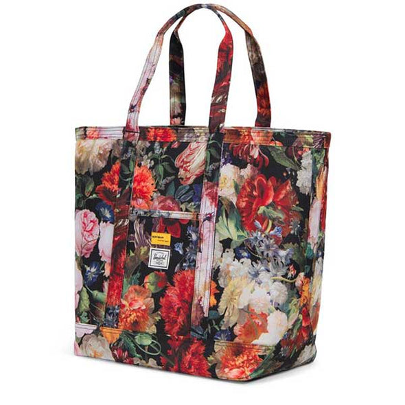 Herschel Supply Co. Bamfield Tote Mid-Volume Hoffman Collection Fall Floral