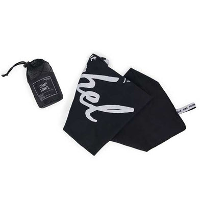 Herschel Supply Co. Camp Towel Black