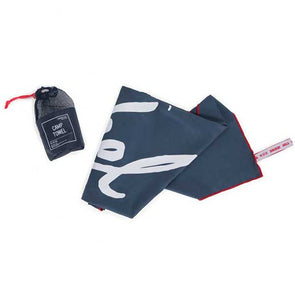 Herschel Supply Co. Camp Towel Navy/Red