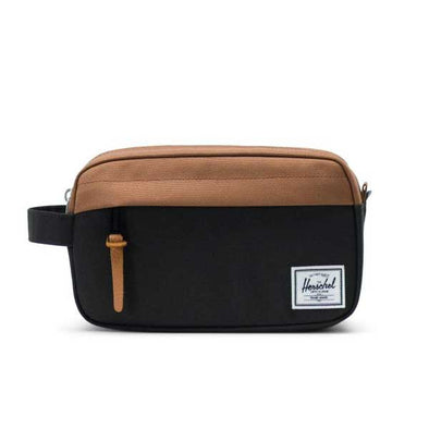 Herschel Supply Co. Chapter Travel Kit Carry-On Black/Saddle Brown