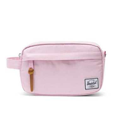 Herschel Supply Co. Chapter Travel Kit Carry-On Pink Lady Crosshatch