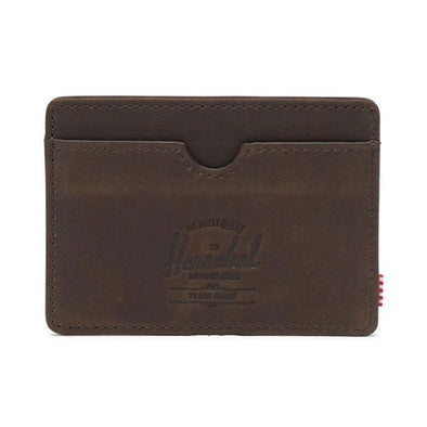 Herschel Supply Co. Charlie Wallet Leather Nubuck Brown