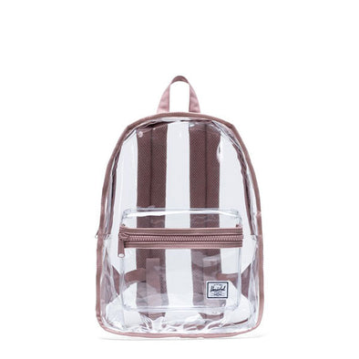 Herschel Supply Co. Classic Backpack Mid-Volume Clear Ash Rose/Clear
