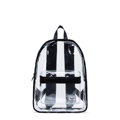 Herschel Supply Co. Classic Backpack Mid-Volume Clear Black/Clear