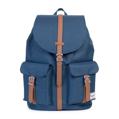 Herschel Supply Co. Dawson Backpack Navy/Tan Synthetic Leather - Xtreme Boardshop