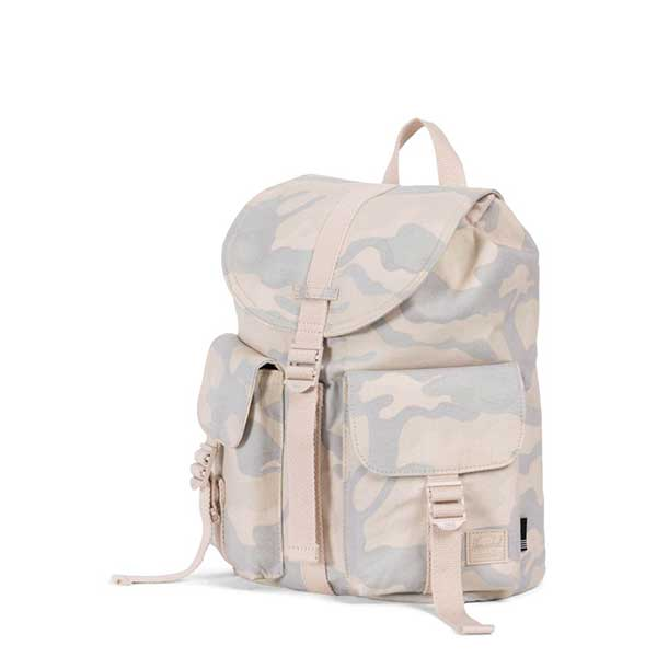 d0e80d2d12 Herschel Supply Co. Women s Dawson Backpack XS Cotton Canvas Collection  Washed Canvas Camo