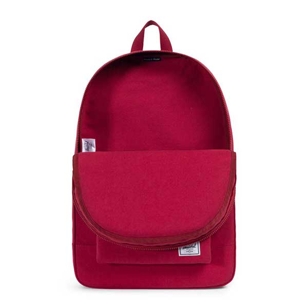 Herschel Supply Co. Daypack Cotton Casuals Collection Brick Red ... abf3fe8dc3fa5