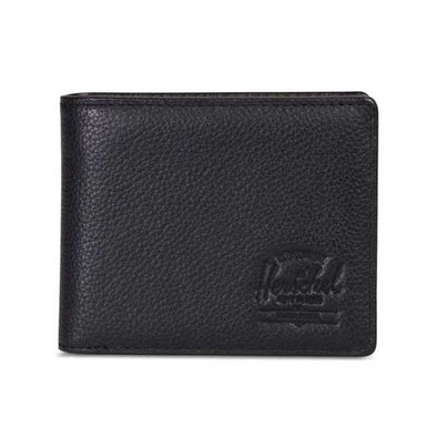 Herschel Supply Co. Hank Coin Wallet Black Pebbled Leather