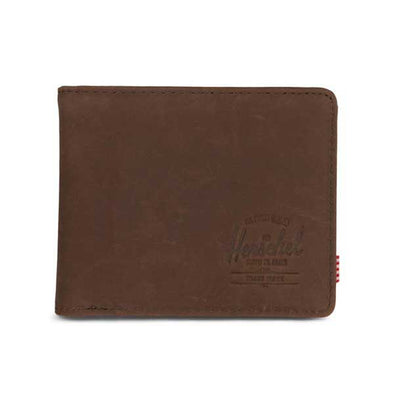 Herschel Supply Co. Hank Wallet Nubuck Brown Leather