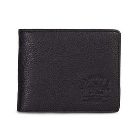 Herschel Supply Co. Hank Wallet Black Pebbled Leather