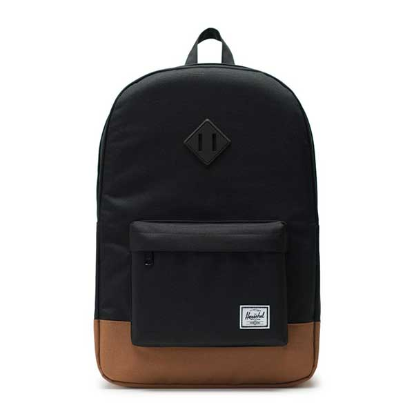 7493d055bb7 Herschel Supply Co. Heritage Backpack Black Saddle Brown – Xtreme Boardshop