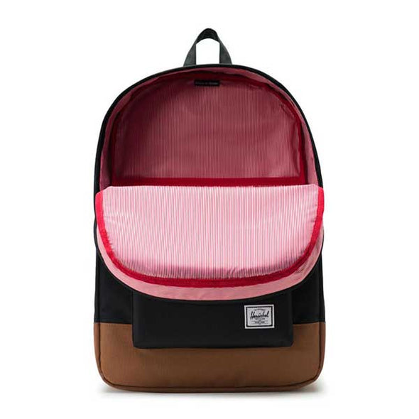 Herschel Supply Co. Heritage Backpack Black/Saddle Brown