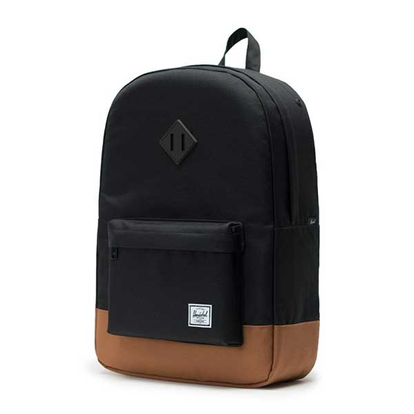 5392c078374 Herschel Supply Co. Heritage Backpack Black Saddle Brown – Xtreme ...