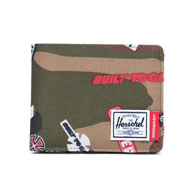 Herschel Supply Co. x Independent Roy Wallet Woodland Camo Multi Independent Logo