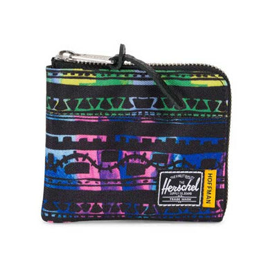 Herschel Supply Co. Johnny Wallet Hoffman Zig Zag Blue/Green - Xtreme Boardshop