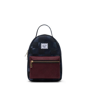 Herschel Supply Co. Nova Backpack Mini Night Camo/Plum Dot Check/Checker