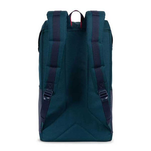 Herschel Supply Co. Little America Backpack Aspect Collection Deep Teal/Peacoat/Barbados Cherry