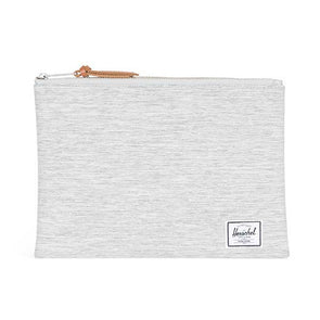 Herschel Supply Co. Network Pouch Large Light Grey Crosshatch - Xtreme Boardshop