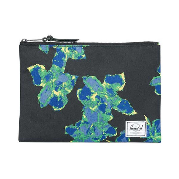 Herschel Supply Co. Network Pouch Large Neon Floral - Xtreme Boardshop