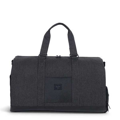 Herschel Supply Co. Novel Duffle Aspect Collection Black Crosshatch/Black/White