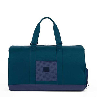Herschel Supply Co. Novel Duffle Aspect Collection Deep Teal/Peacoat/Barbados Cherry