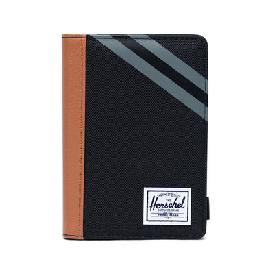 Herschel Supply Co. Raynor Passport Holder Black/Synthetic Leather