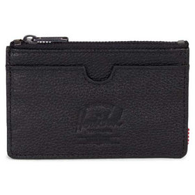 Herschel Supply Co. Oscar Wallet Black Pebbled Leather