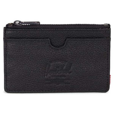 Herschel Supply Co. Oscar Wallet Black Pebbled Leather - Xtreme Boardshop