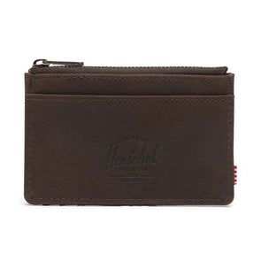 Herschel Supply Co. Oscar Wallet Leather Nubuck Brown