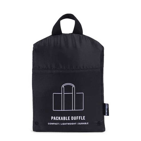 Herschel Supply Co. Packable Duffle Black - Xtreme Boardshop