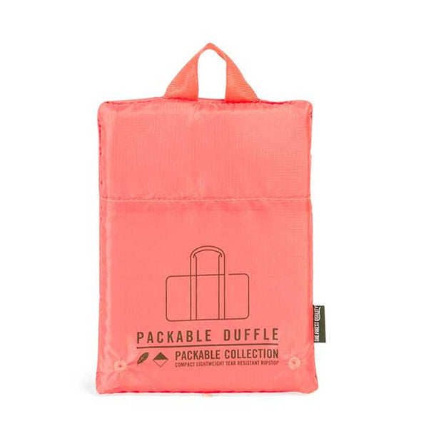 Herschel Supply Co. Packable Duffle Hot Coral - Xtreme Boardshop