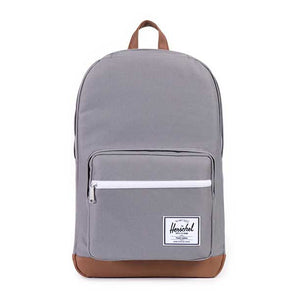 Herschel Supply Co. Pop Quiz Grey/Tan Synthetic Leather - Xtreme Boardshop