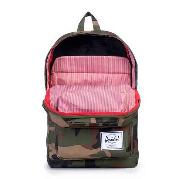 Herschel Supply Co. Pop Quiz Backpack Woodland Camo/Multi Zip - Xtreme Boardshop