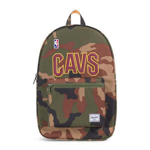 Herschel Supply Co. Settlement Backpack NBA Superfan Cleveland Cavaliers/Woodland Camo