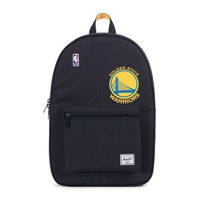 Herschel Supply Co. Settlement Backpack NBA Superfan Golden State Warriors/Black
