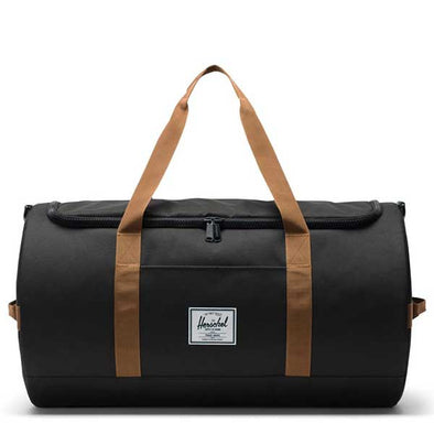 Herschel Supply Co. Sutton Duffle Black/Saddle Brown