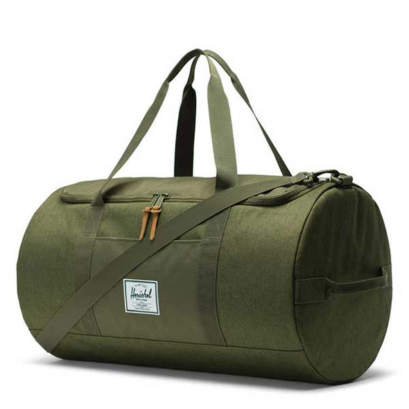 Herschel Supply Co. Sutton Duffle Olive Night Crosshatch/Olive Night