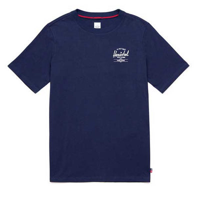 Herschel Supply Co. T-Shirt SP19 Peacoat/White Classic Logo