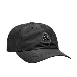 HUF Aurora Curved Visor 6-Panel Hat Black
