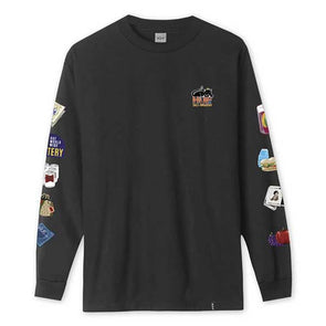 HUF Bodega Long Sleeve Tee Black
