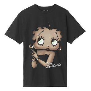 HUF Betty Boop Cigar Club T-Shirt Black