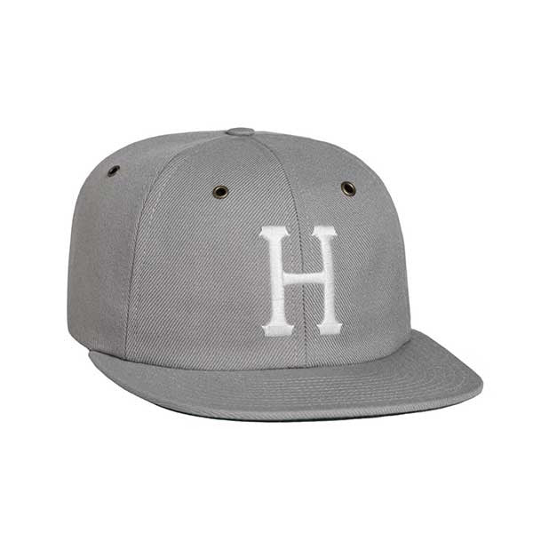 HUF Classic H 6-Panel Hat SP16 Grey