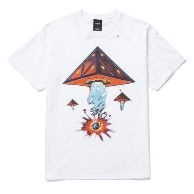 HUF Doomsday Triple Triangle T-Shirt White