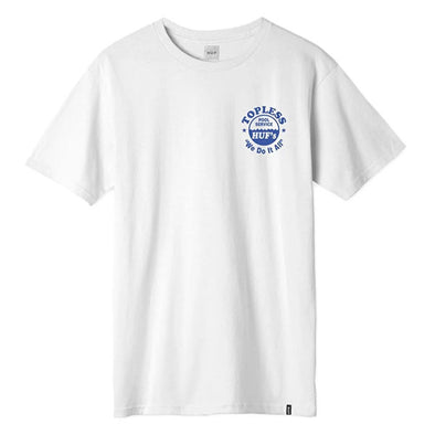 HUF Drained T-Shirt White