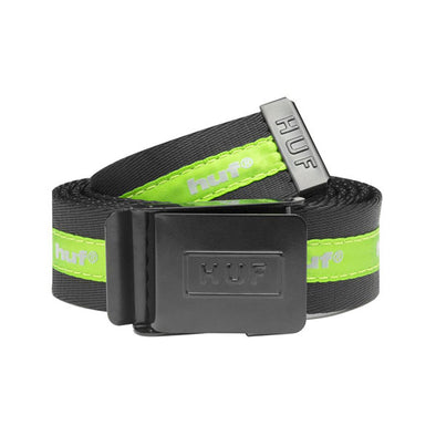 HUF Easy Scout Belt Black/Green