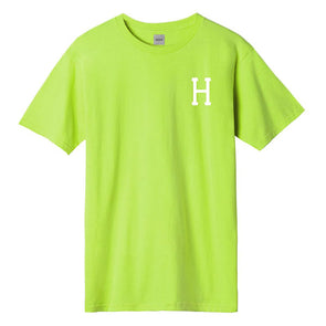 HUF Essentials Classic H T-Shirt Hot Lime