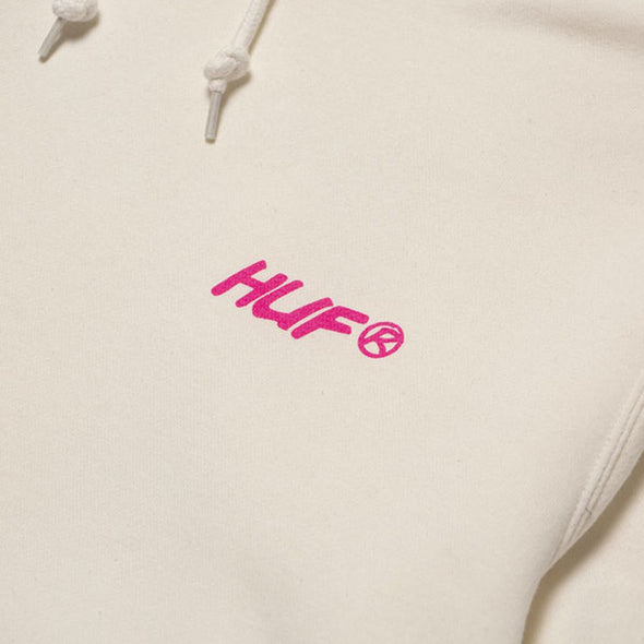 HUF I Feels Good Pullover Hoodie White