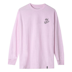 HUF Betty Boop Live Wire Long Sleeve T-Shirt Pink