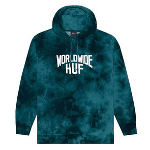 HUF Manhattan Pullover Hoodie Deep Jungle