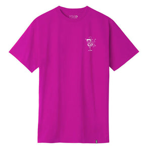 HUF Betty Boop Martini T-Shirt Hot Pink